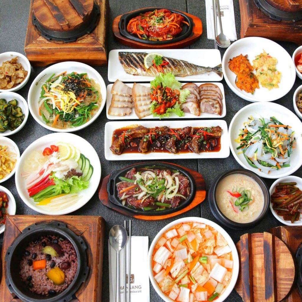 Korean Culture: Korean traditional food involves numerous side dishes