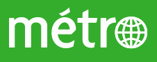 Press Logo: Journal Métro