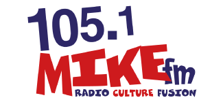 Press Logo: 105.1 Mike FM